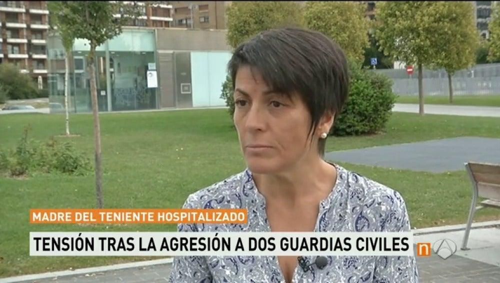 """Frame 101.748363 de: La madre de uno de ellos agredidos Alsasua: """"Les pegaron hasta que se cansaron"""""""