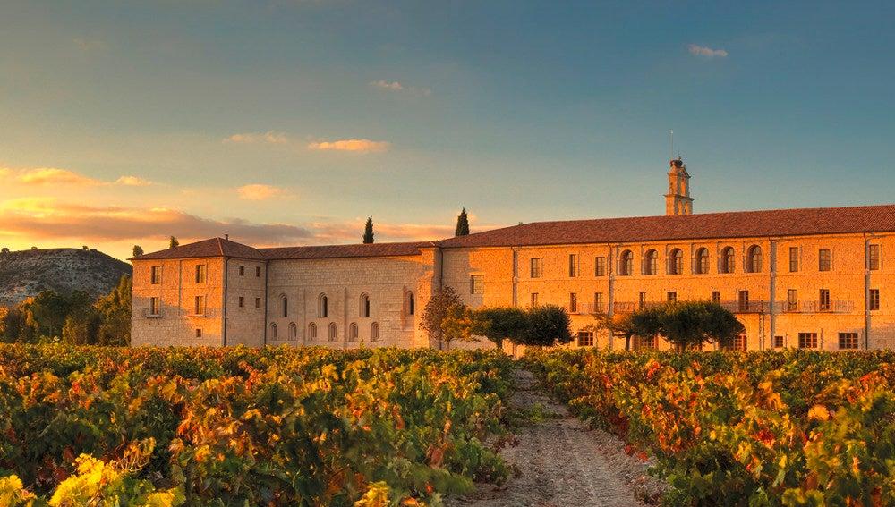 El esplendoroso monasterio donde se ubica Abadía Retuerta.