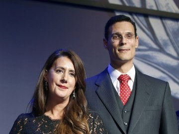 Dolores Redondo y Marcos Chicot