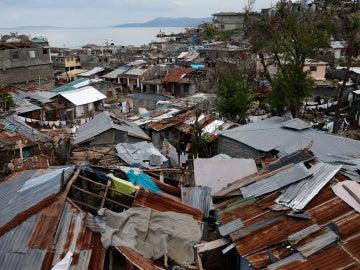Devastación en Haití