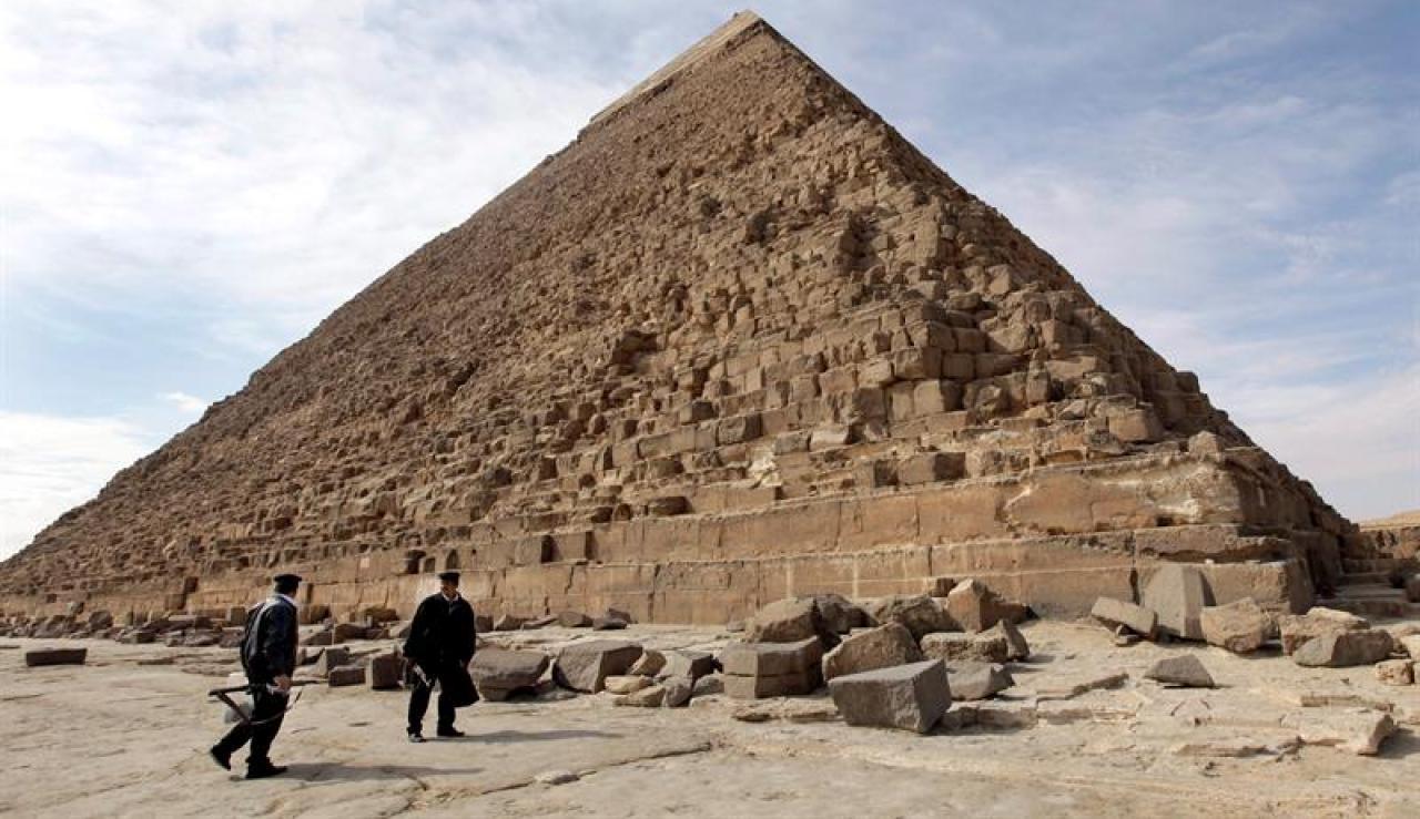 Gran Pirámide de Keops | Archivo