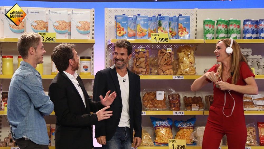 Descubre los trucos que utilizan los supermercados para que piquemos, de la mano de Marta Hazas