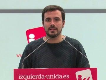 Frame 3.61946 de: Alberto Garzón: Si el PSOE permite la investidura de Rajoy, será corresponsable de la corrupción del PP