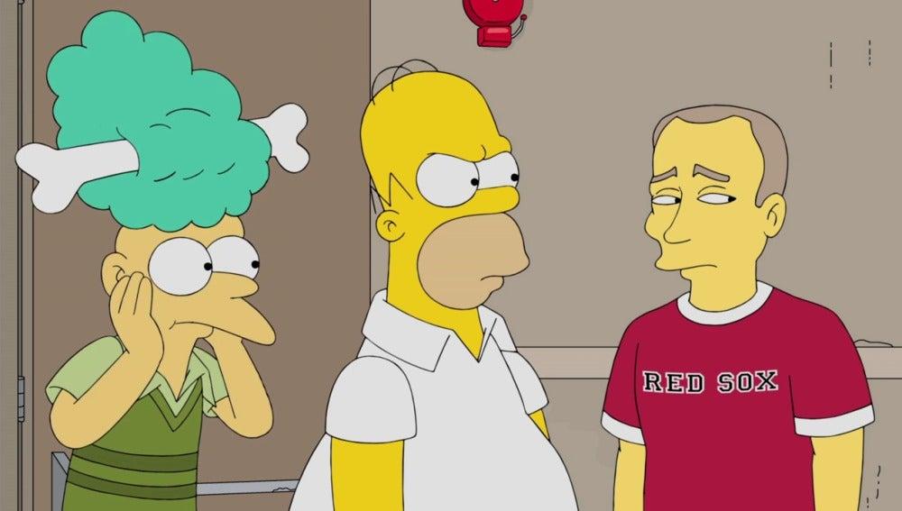 Homer Simpson acude a votar en las elecciones del 8 de noviembre