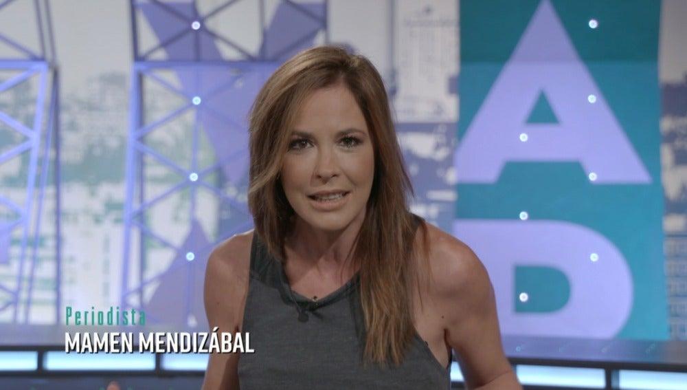 Mamen Mendizábal en el 'Tercer Grado'