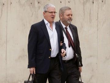 Pablo Crespo y su abogado llegan a declarar a la Audiencia Nacional