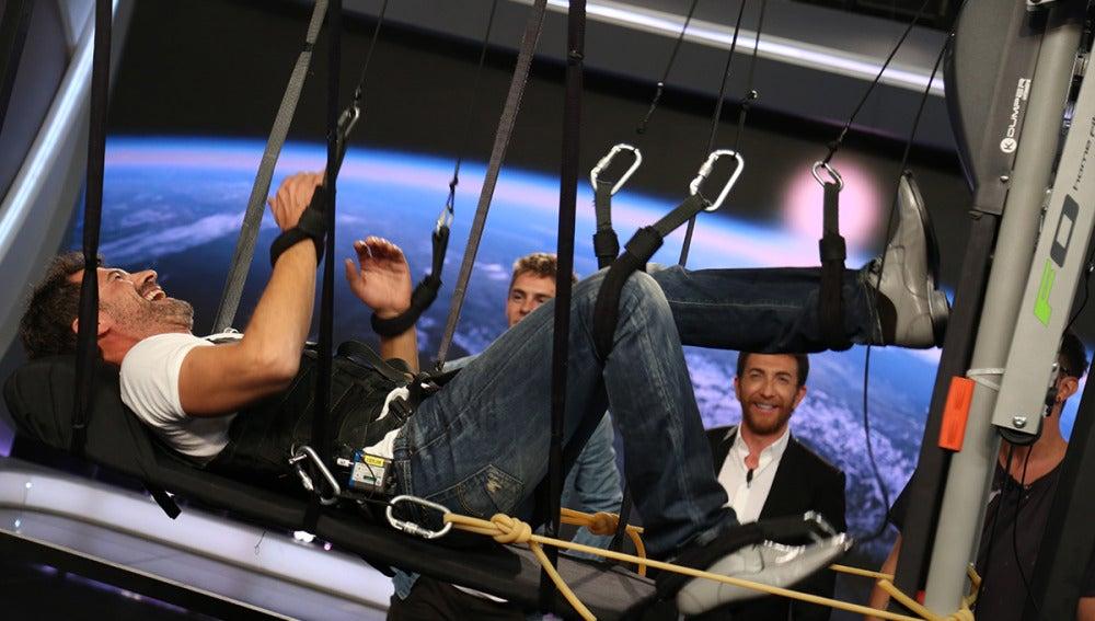 Así entrenan los astronautas en las naves espaciales
