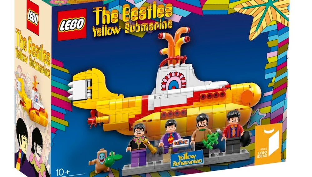 'Yellow Submarine' de Lego