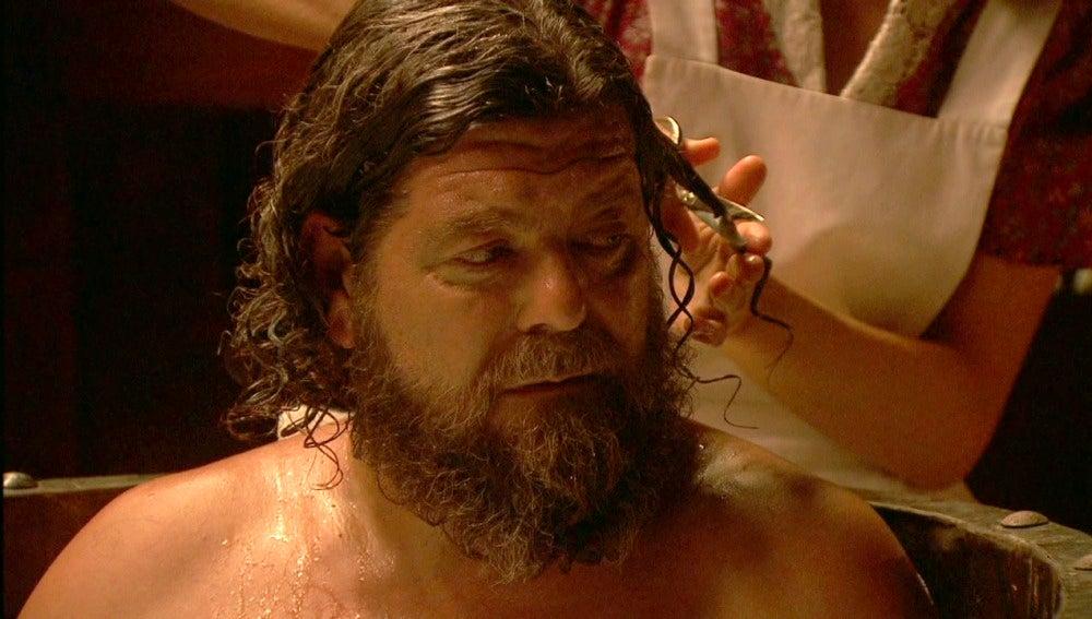 La divertida ducha de Fe a Mauricio