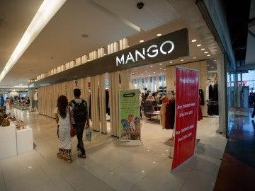 Una tienda Mango