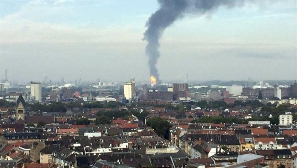 Explosión en Alemania