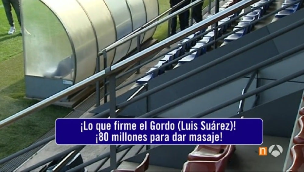 La curiosa conversación entre Gerard Piqué y Luis Suárez