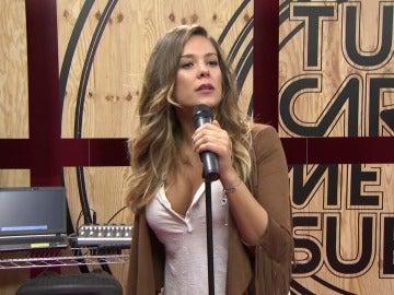 Lorena Gómez imitará por primera vez a un hombre