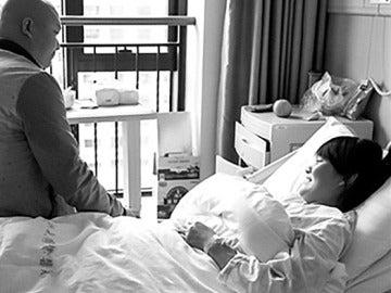 Yang Li, en el hospital