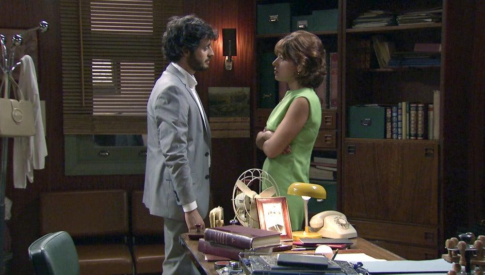 """Nuria a Jaime: """"Es mejor que te marches y que te plantees que es lo que quieres y a quién quieres"""""""