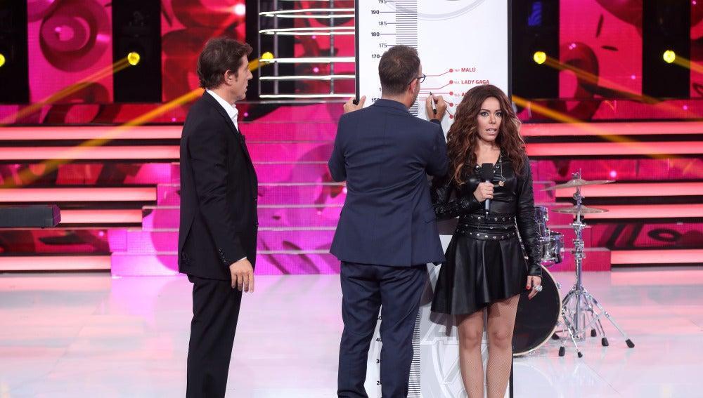Àngel Llàcer mide la 'altura musical' de los concursantes de 'Tu cara me suena'