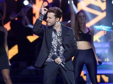 Blas Cantó nos deja sin palabras tras interpretar 'Can't stop the feeling' de Justin Timberlake