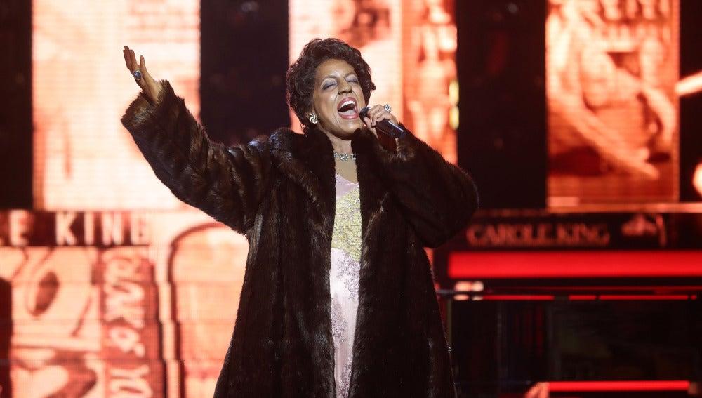 Ruth Lorenzo, explosión de voz interpretando a Aretha Franklin