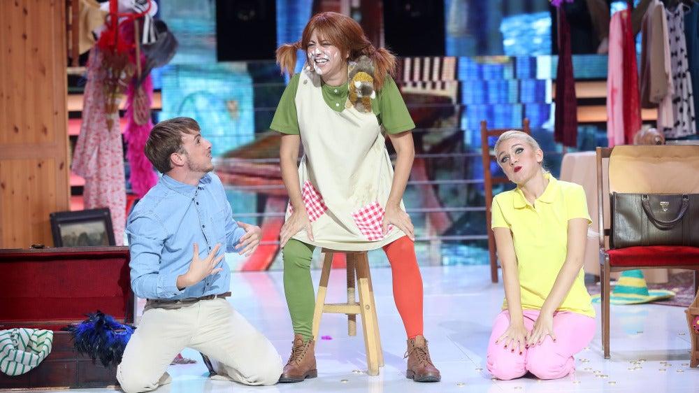 Yolanda Ramos nos devuelve a la infancia con su divertida imitación de Pippi Calzaslargas