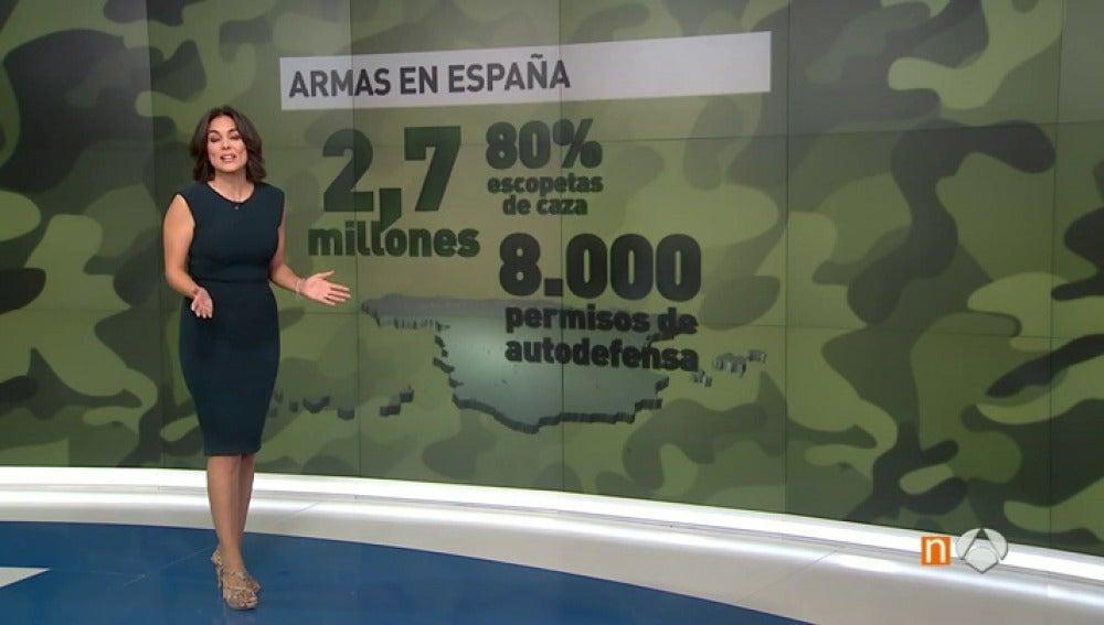 Frame 40.675708 de: Las diez cifras imprescindibles de la situación de las armas en España