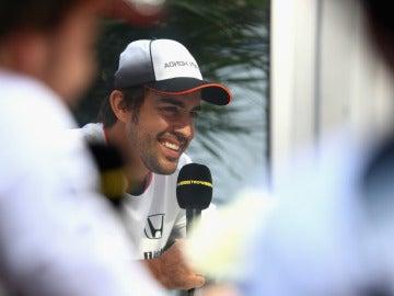 Fernando Alonso, en el trazado de Austin
