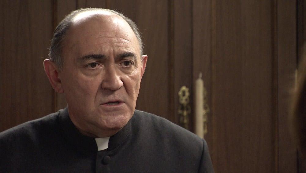 """Padre Argimiro: """"Voy a proteger a ese hombre por encima de todo"""""""