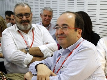 Miquel Iceta, en el Comité Federal