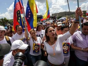 Manifestación por el revocatorio en Venezuela