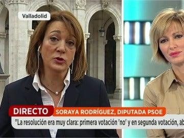 Soraya Rodríguez en Espejo Público
