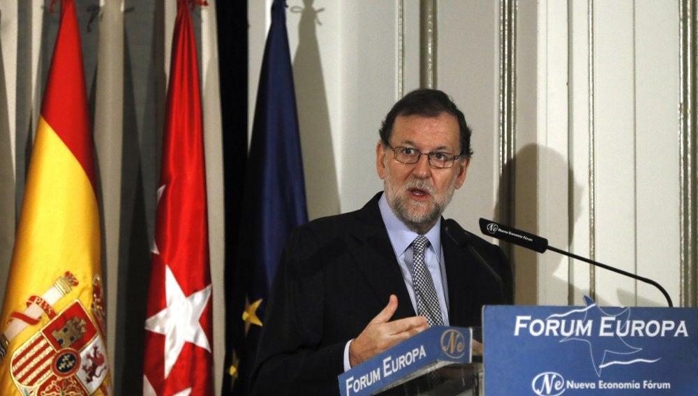El jefe del Ejecutivo en funciones, Mariano Rajoy