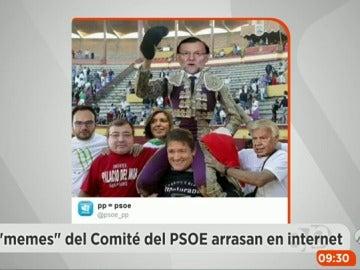 Frame 5.804218 de: Los 'memes' del Comité Federal del PSOE arrasan en las redes sociales