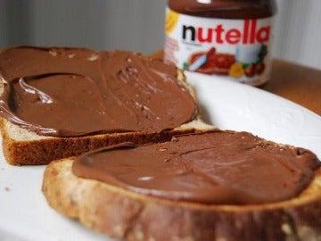 Tostadas con Nutella