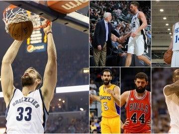 Los jugadores españoles que más cobran en la NBA