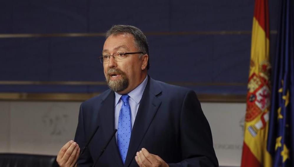 El diputado de Foro Asturias Isidro Martínez Oblanca