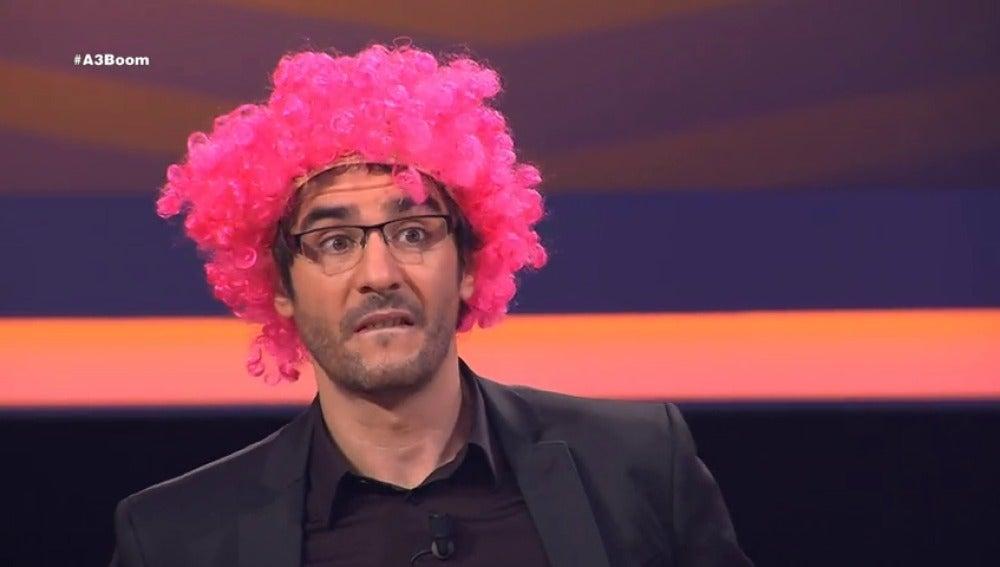 Frame 28.953391 de: ¿Por qué Juanra Bonet tiene el pelo rosa?