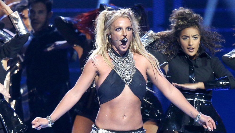 Britney Spears en su espectáculo Piece Of Me en Las Vegas