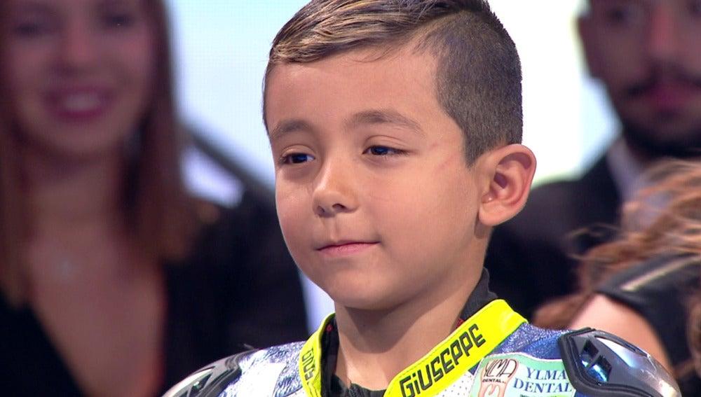 """Un niño a su abuelo: """"He ganado esta carrera por ti"""""""