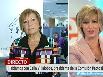 Villalobos en Espejo Público