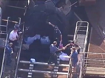 Frame 11.468949 de: Al menos cuatro muertos en un accidente en el parque de atracciones Dreamworld en Australia