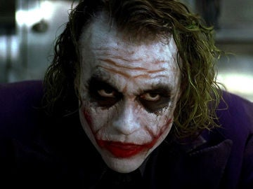 Heath Ledger en su interpretación del Joker