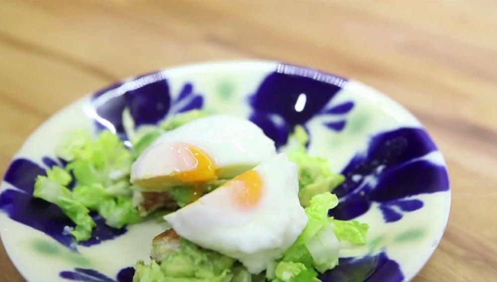 Frame 28.480719 de: ¿Cómo preparar un huevo poché perfecto en 1 minuto?