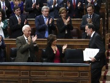 Mariano Rajoy tras el discurso