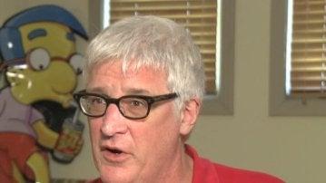 Kevin Curran, guionista de 'Los Simpson'