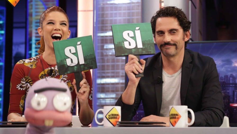 ¿Se han puesto calientes Paco León y Juana Acosta rodando escenas en películas?