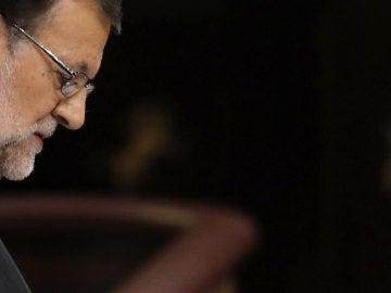 Mariano Rajoy durante su discurso