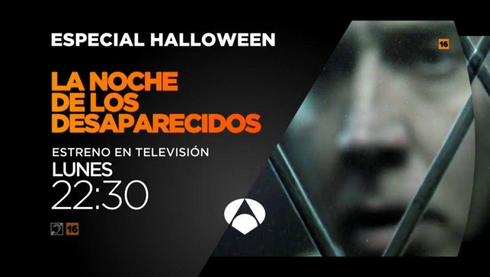 Frame 17.976667 de: Especial Halloween en Antena 3 con la película 'La noche de los desaparecidos'