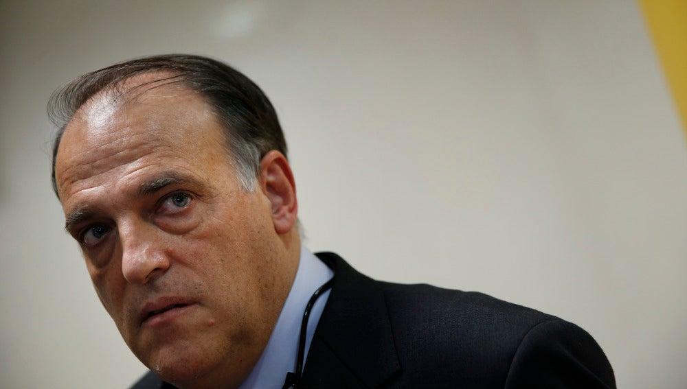 Javier Tebas, presidente de la Liga