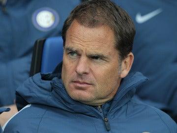 Frank de Boer, en el banquillo del Inter de Milán