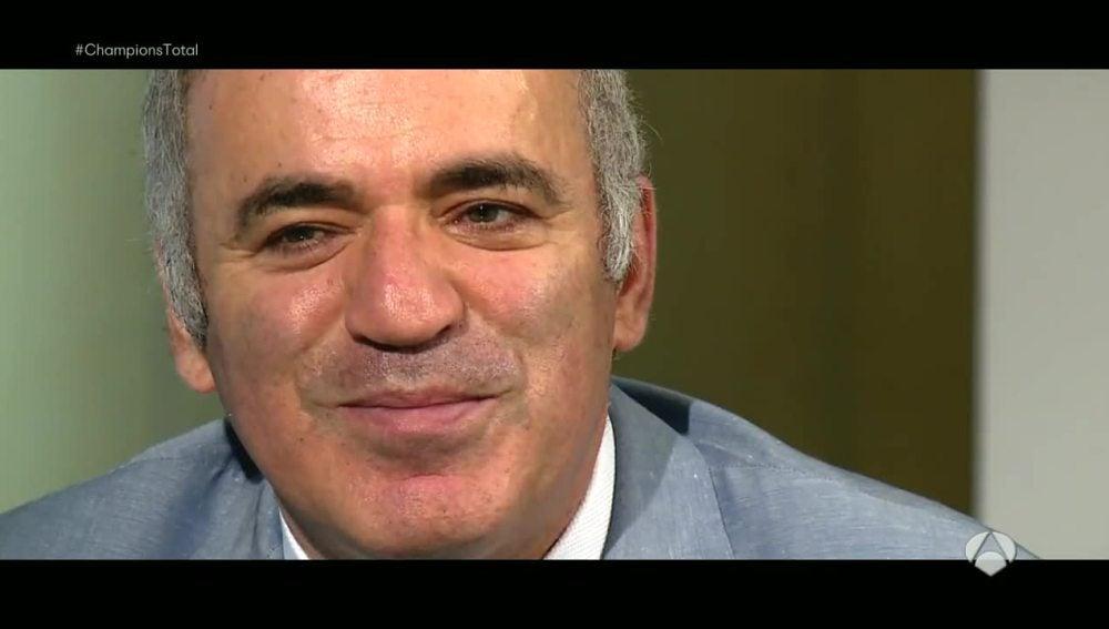 Gary Kasparov, campeón de ajedrez