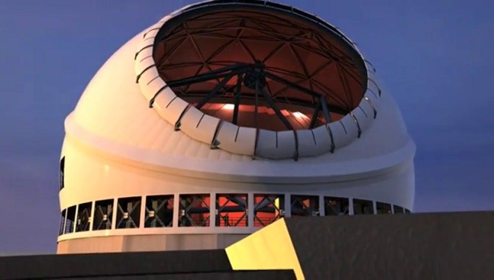 Frame 23.278514 de: La isla de La Palma podría albergar el mayor telescopio del mundo
